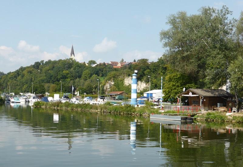 De jachthaven van Kapfelberg