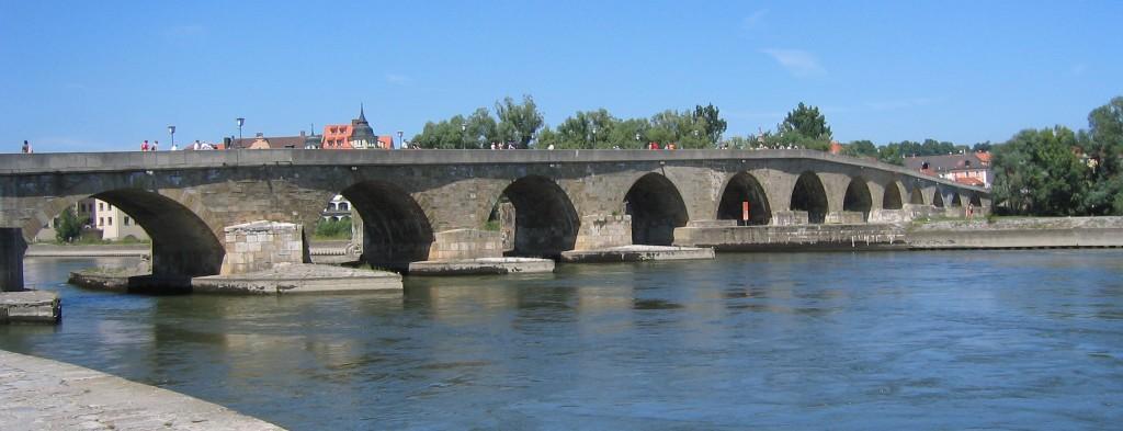 De Stenen Brug in Regensburg